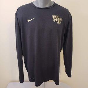 Wake Forest University Nike Long Sleeve XL